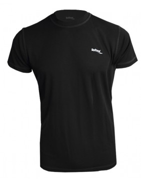 CAMISETA SOFTEE TECHNICS DRY HOMBRE COLOR NEGRO TALLA S