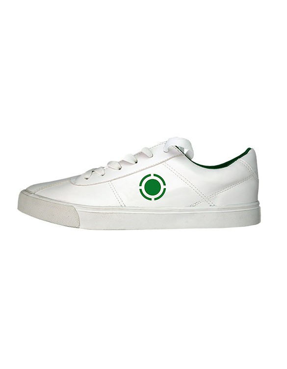 ZAPATILLA JIM TALENTUM COLOR BLANCO/VERDE TALLA 31