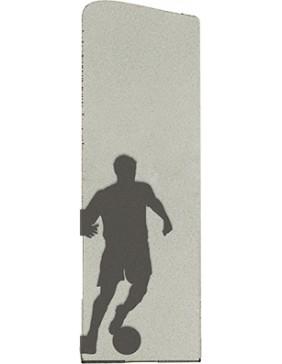 FUTBOL M. CORTE PLATA RECTO 21 cm
