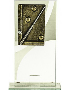 BILLAR CRISTAL RECTANGULAR 21 cm